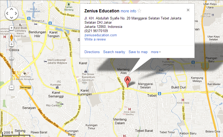 google map zenius
